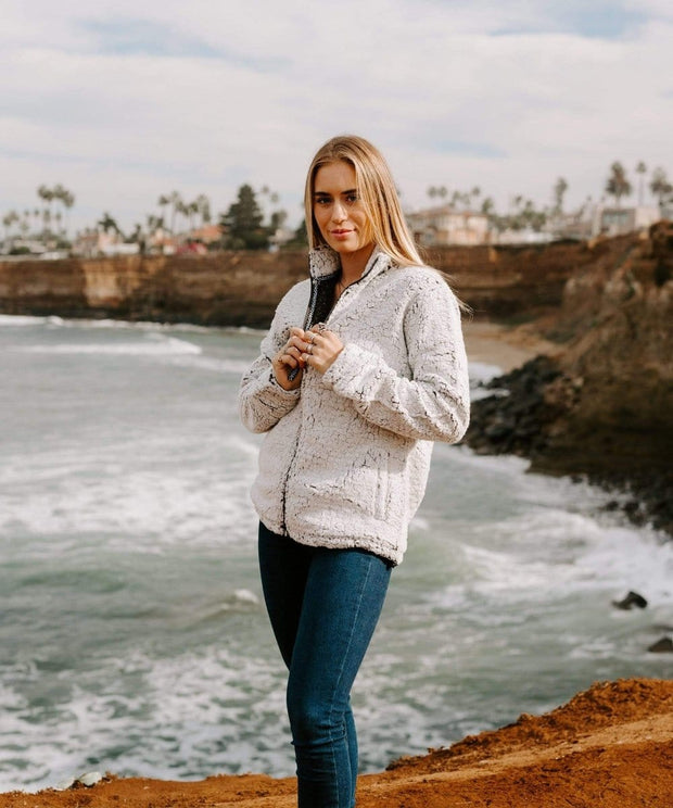 Serengetee - Wear The World Frosty CabinCozy Sherpa Jacket