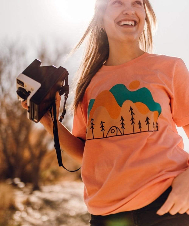 Serengetee - Wear The World Funky Camp Tee From Wyoming