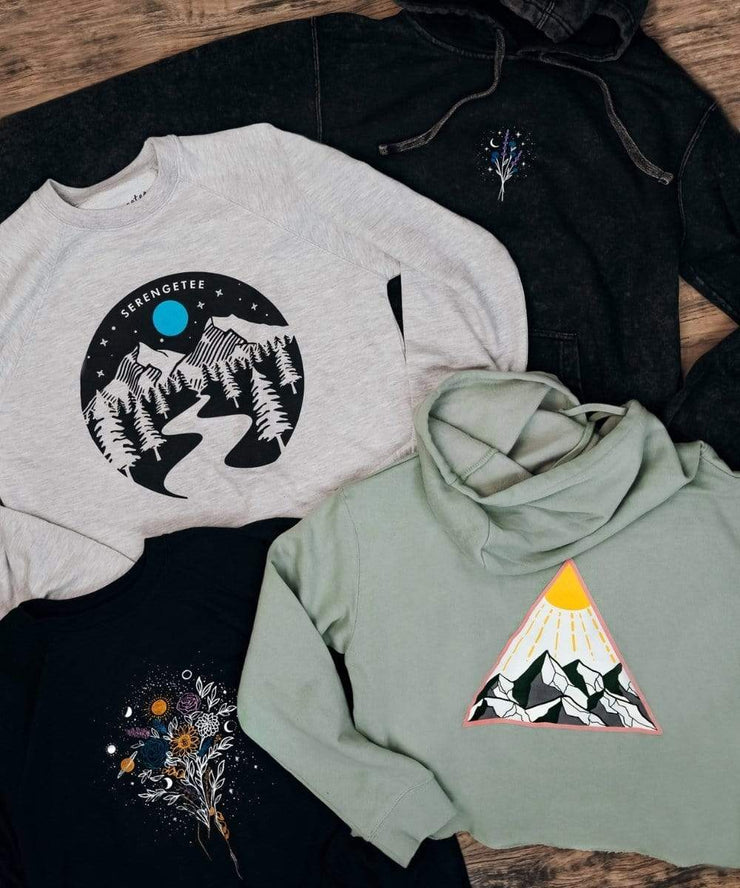 Serengetee - Wear The World Galaxy's Garden Mineral Wash Hoodie from Australia