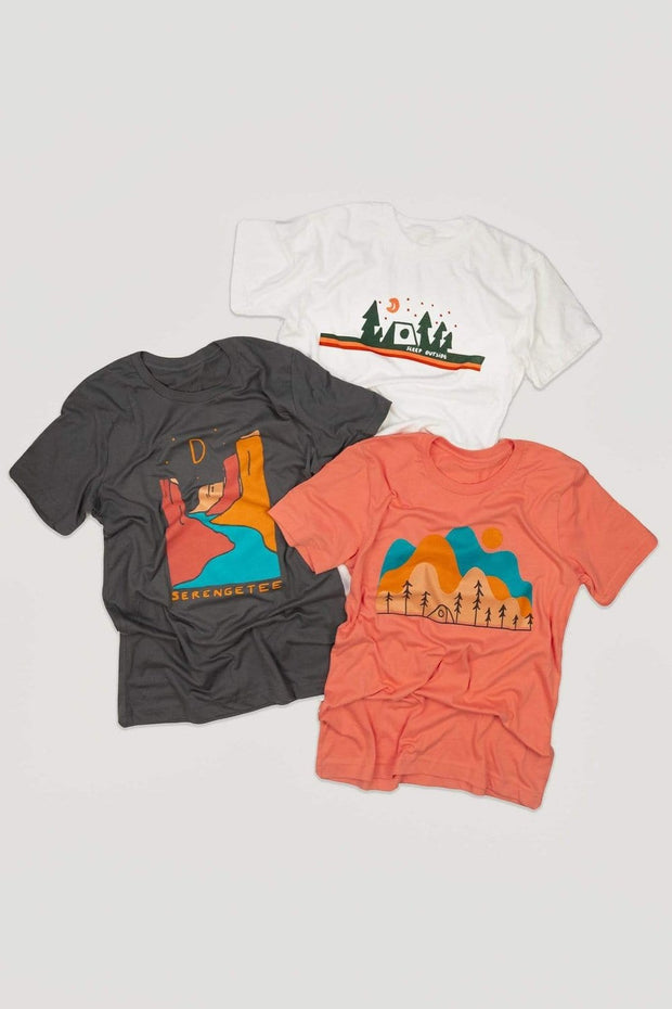 Serengetee - Wear The World Granite Canyon Tee From Wyoming