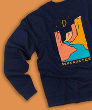Serengetee - Wear The World Indigo Canyons Sweatshirt From Wyoming