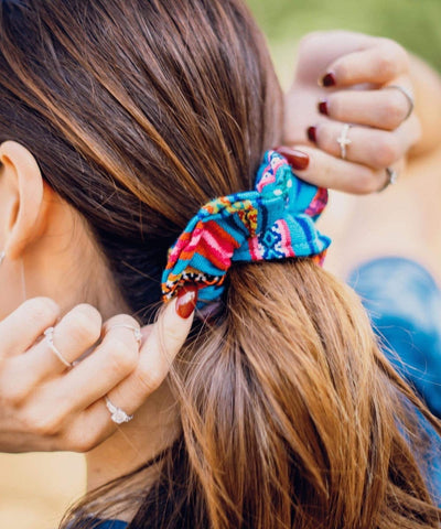 Serengetee - Wear The World Iquitos Scrunchie from Peru