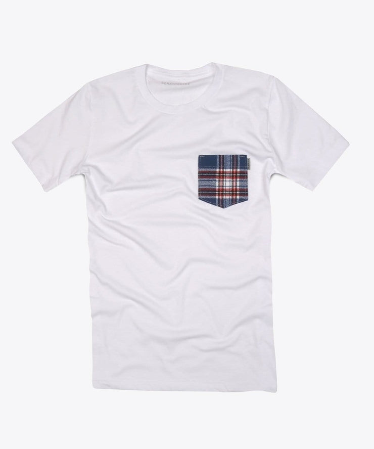 Serengetee - Wear The World Juno Flannel Pocket Tee from USA
