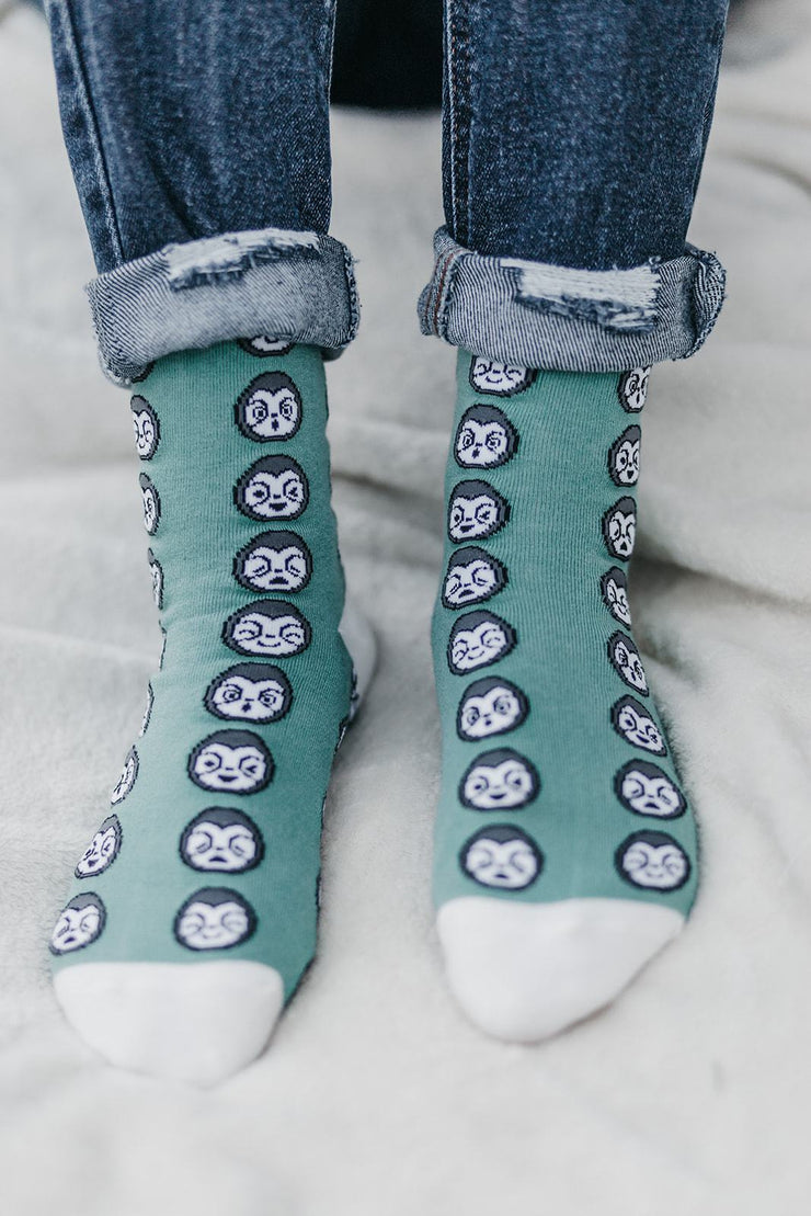 Kids Sloth Socks
