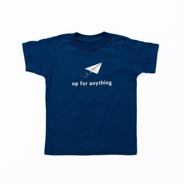 Kids Up For Anything Organic Tee