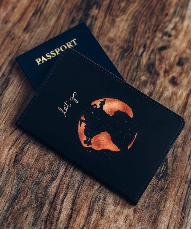 Serengetee - Wear The World Let Go Passport Holder from Australia