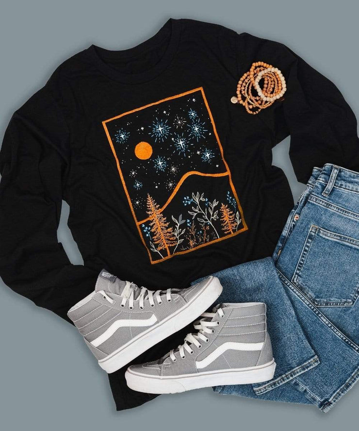 Serengetee - Wear The World Lunar Long Sleeve From Australia