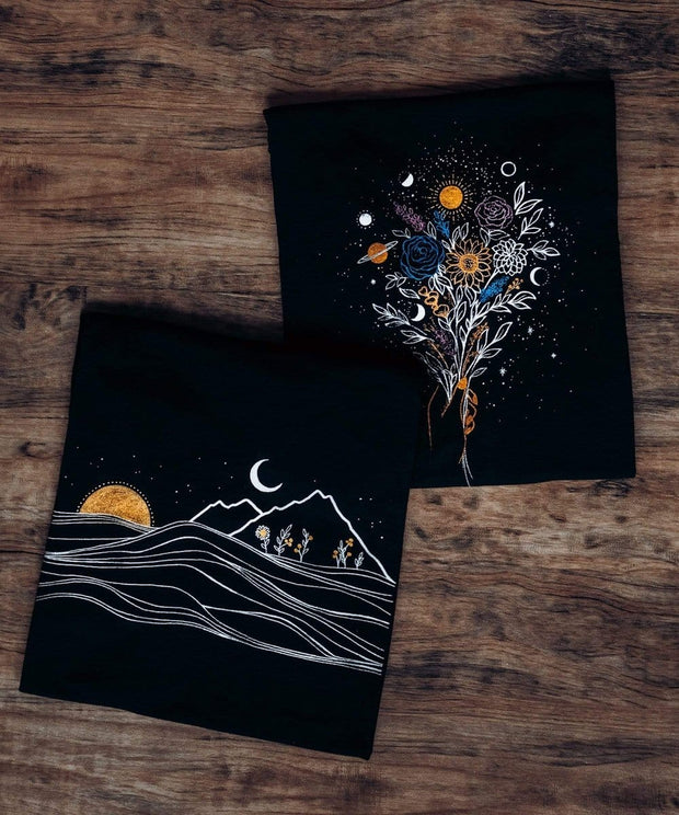 Serengetee - Wear The World Midnight Waves Tee