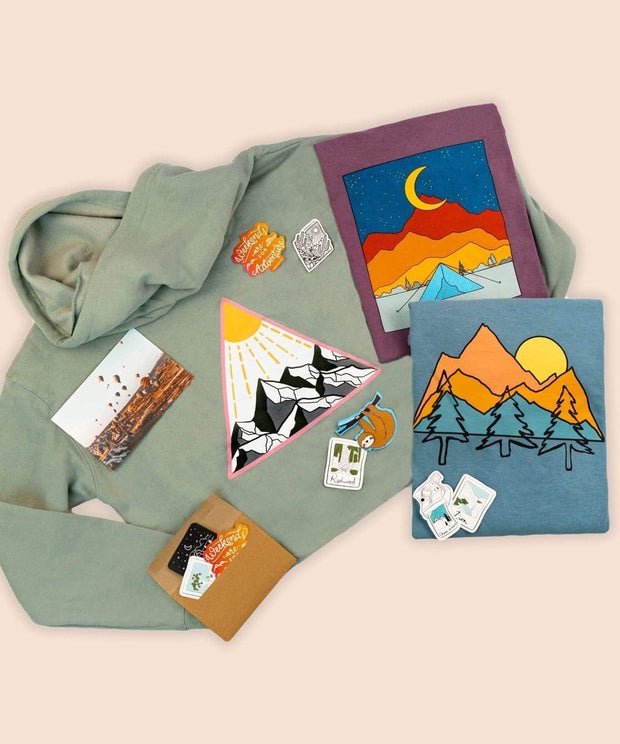 Serengetee - Wear The World Mountain Escape Artist Bundle From Utah