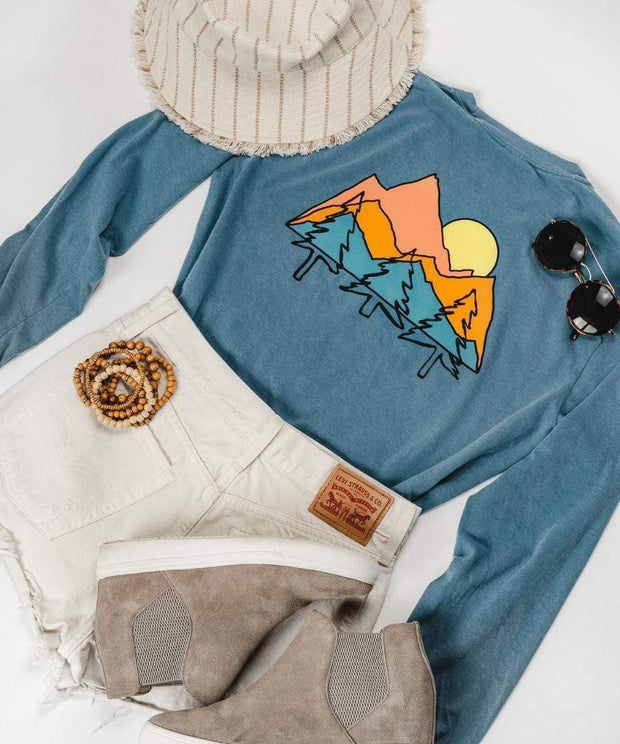 Serengetee - Wear The World Mountain Escape Long Sleeve