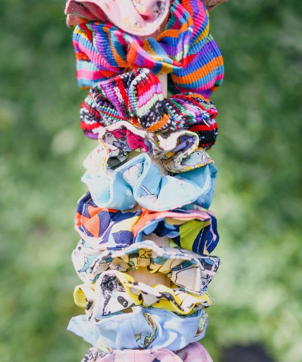 Serengetee - Wear The World Mystery Every Day Scrunchie 5-Pack