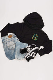 Serengetee - Wear The World New Moon Cropped Hoodie