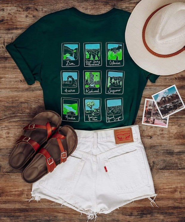 Serengetee - Wear The World S Parks Polaroid Tee
