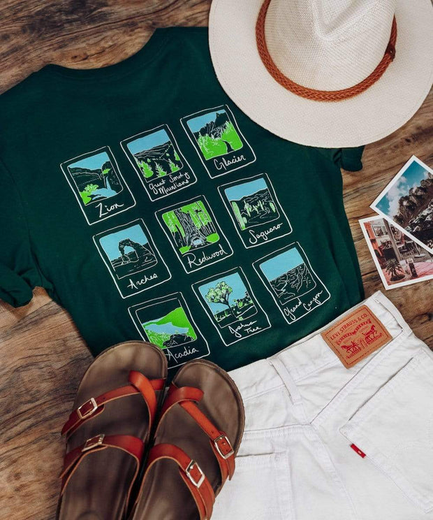 Serengetee - Wear The World Parks Polaroid Tee