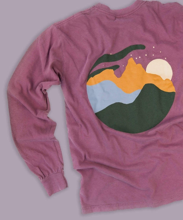 Serengetee - Wear The World Peak To Peak Long Sleeve From Wyoming