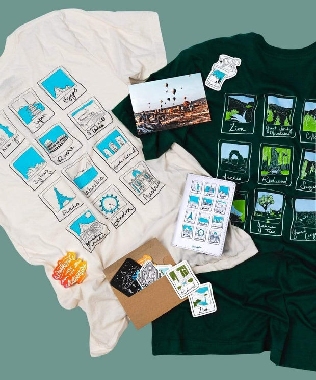 Serengetee - Wear The World Polaroid Artist Bundle From California
