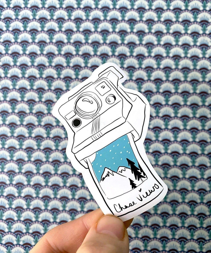 Serengetee - Wear The World Polaroid Sticker