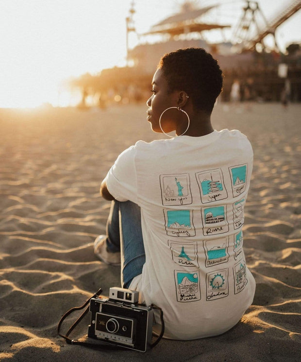 Serengetee - Wear The World Polaroid Tee