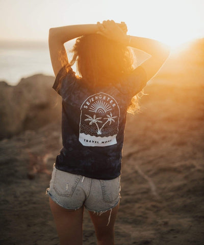 Serengetee - Wear The World Samui Crystal Dye Tee