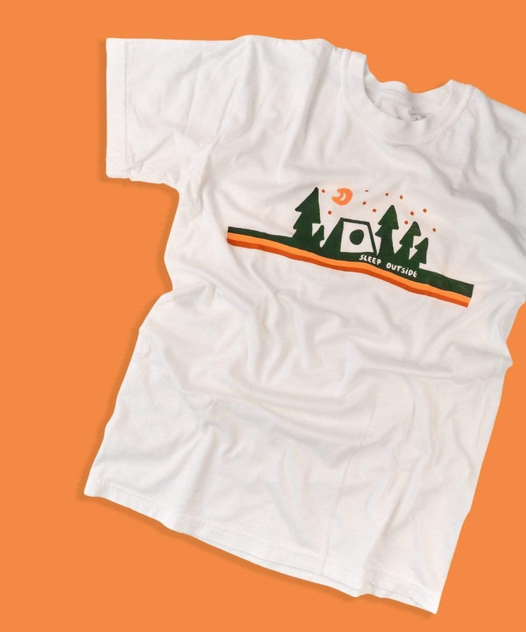 Serengetee - Wear The World Sleep Outside Tee From Wyoming