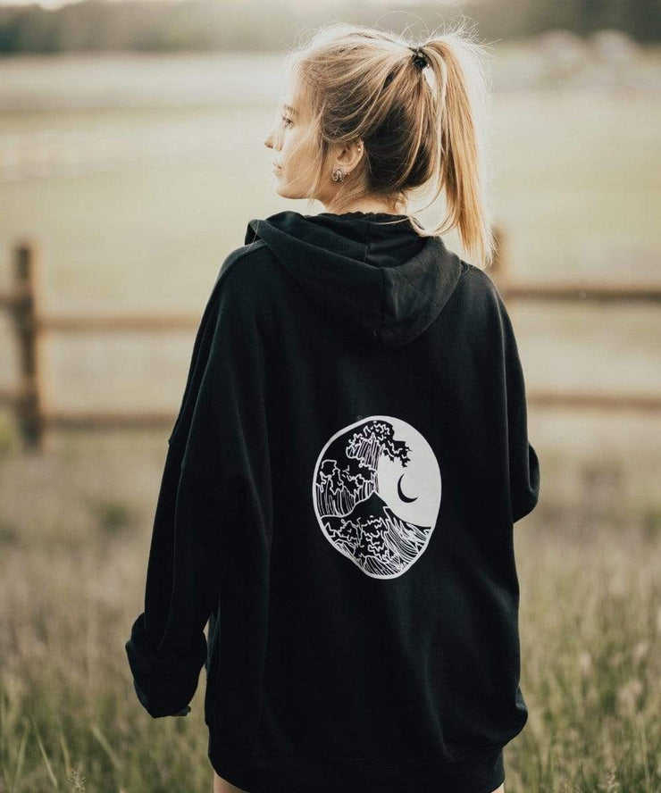 Serengetee - Wear The World Tidal Wave Hoodie from California