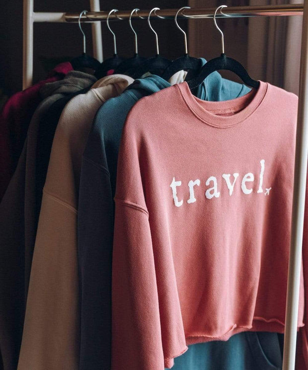 Serengetee - Wear The World Travel Cropped Fleece From New York
