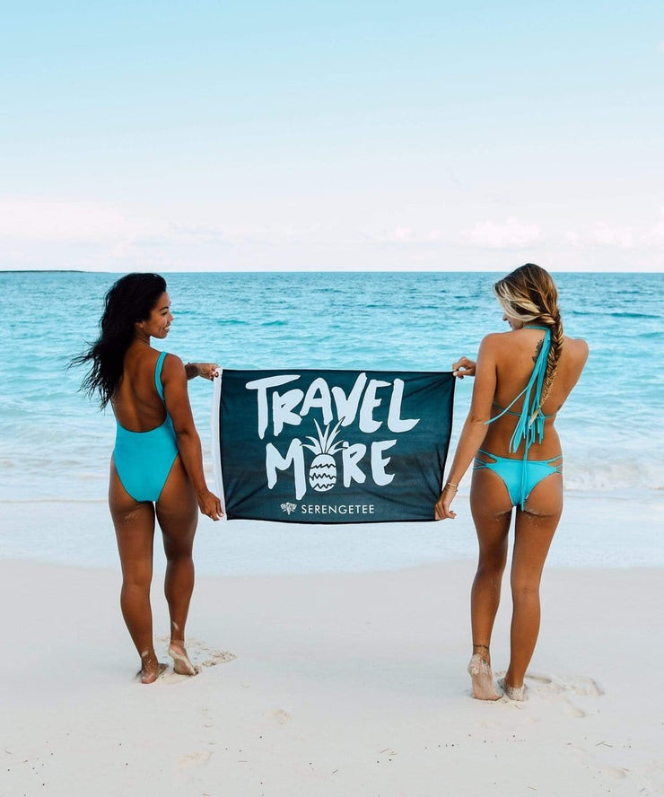 Serengetee - Wear The World Travel More Flag