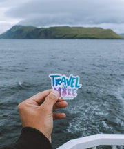Serengetee - Wear The World Travel More Sticker