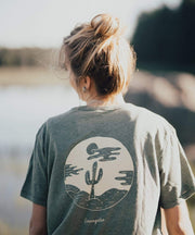 Serengetee - Wear The World Vintage Sage Sahara Tee