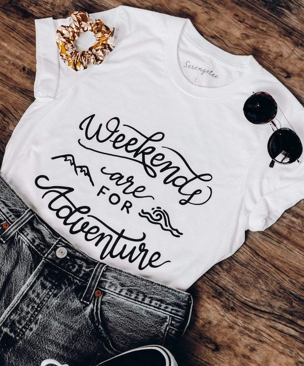 Serengetee - Wear The World Weekends Are For Adventure Tee