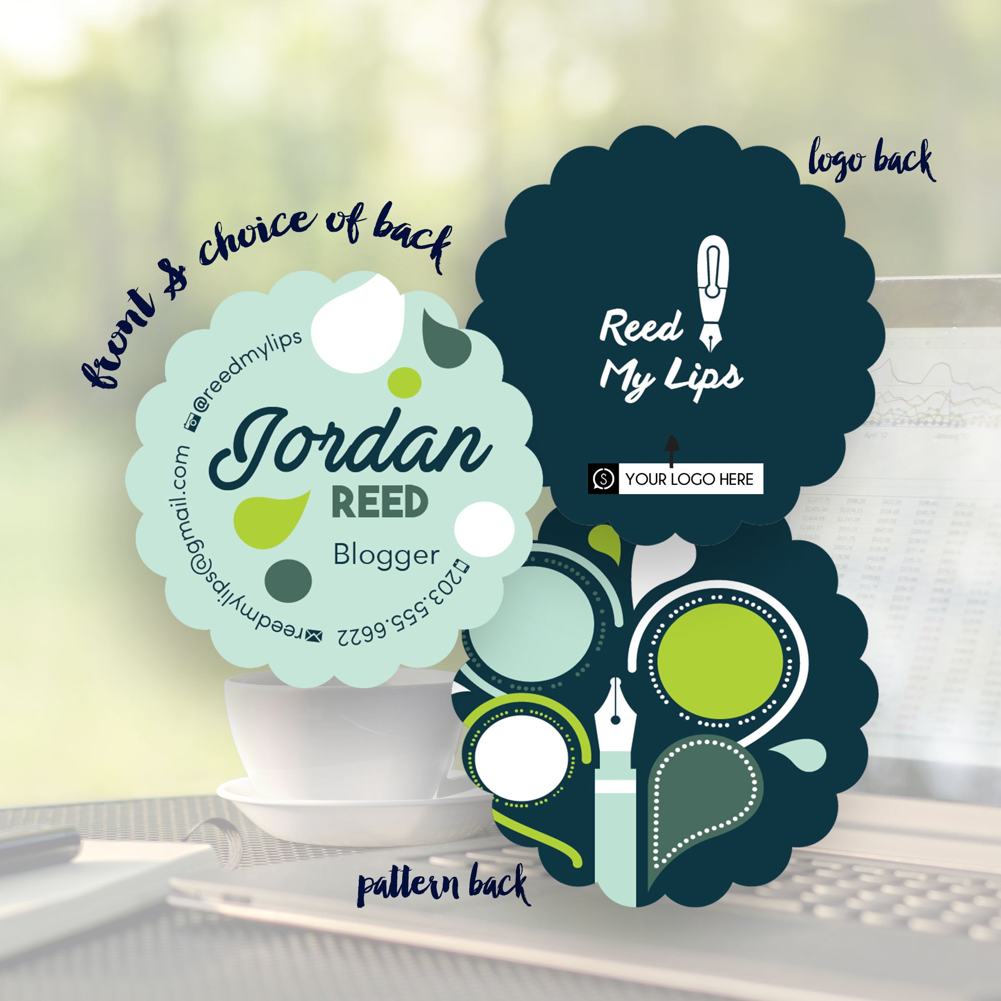 Blogger Business Card Designs