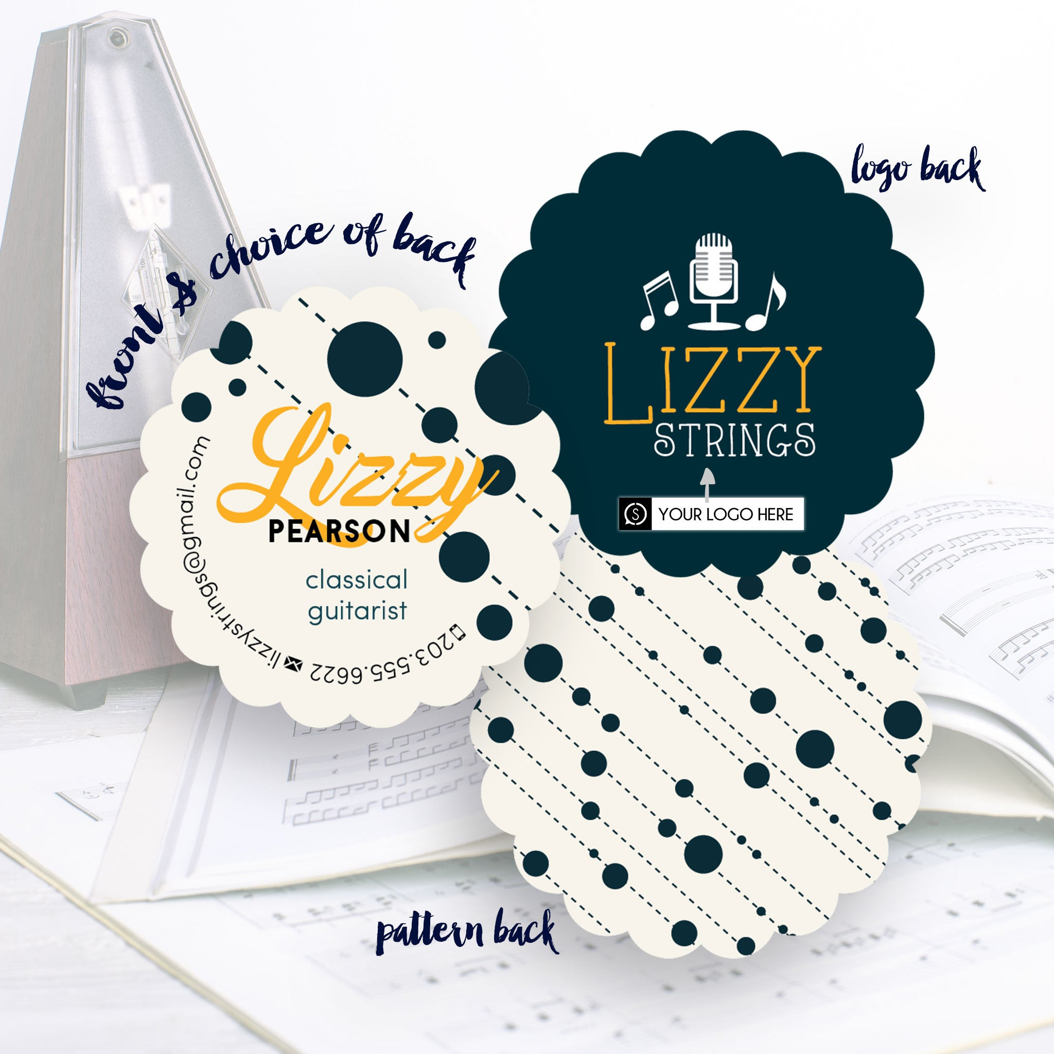 Lizzy - Business Cards