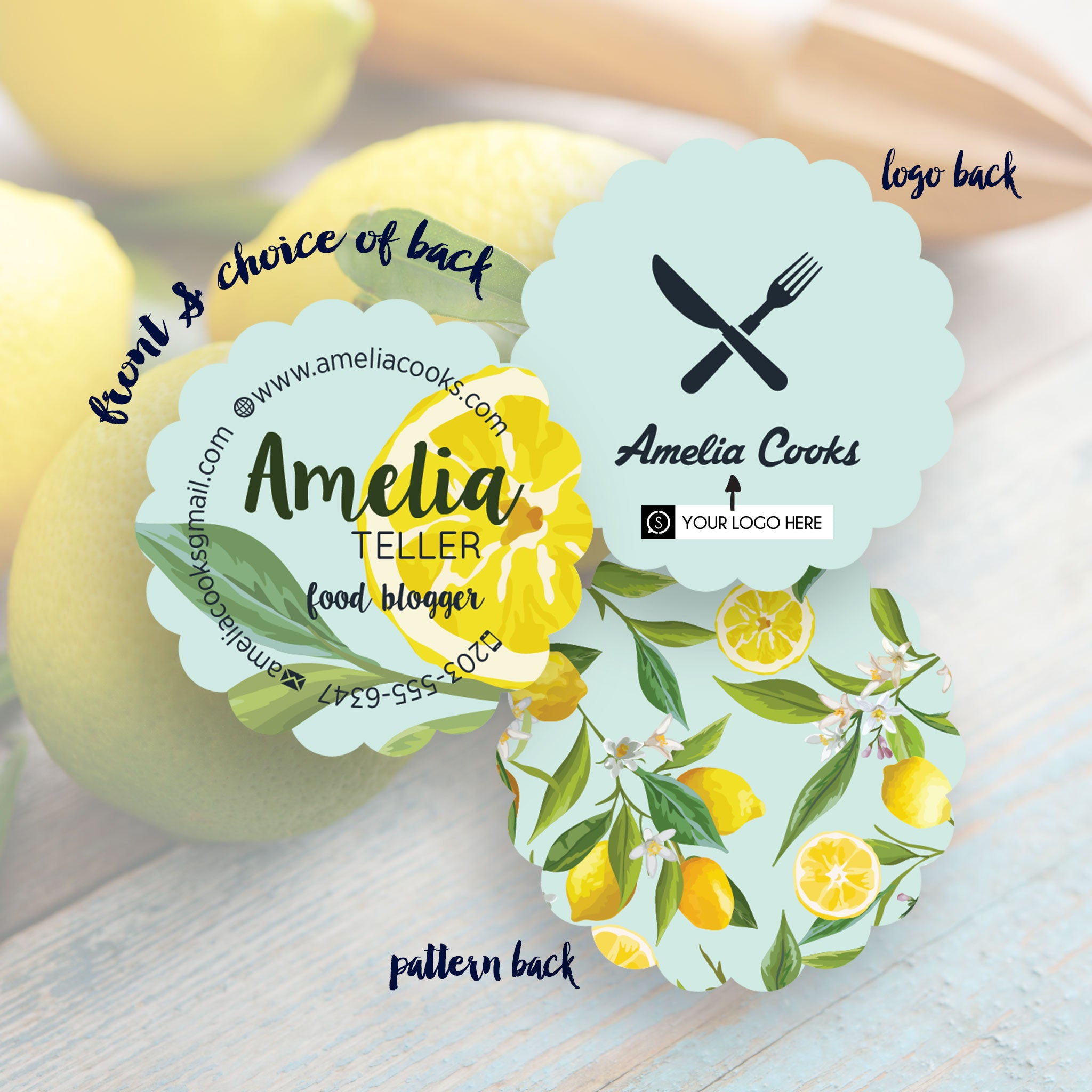 Amelia - Business Cards