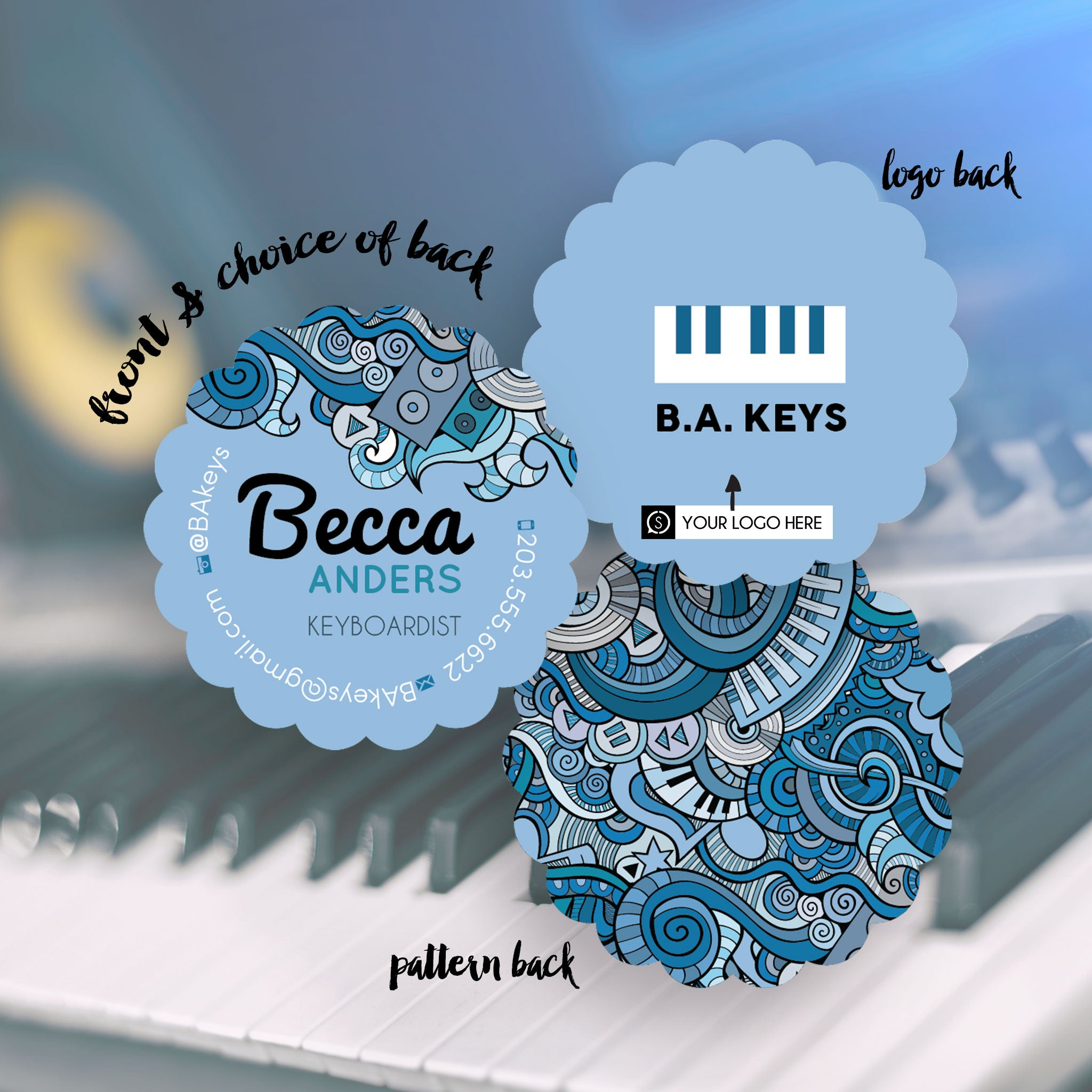 Becca - Business Cards