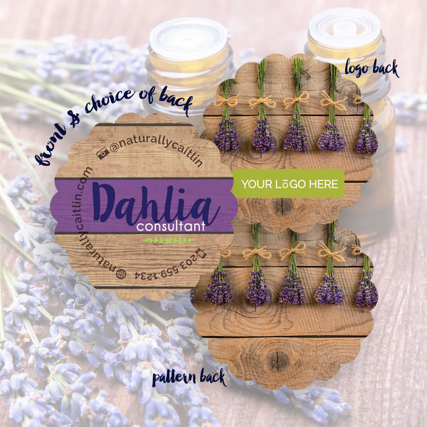 Dahlia - Business Cards