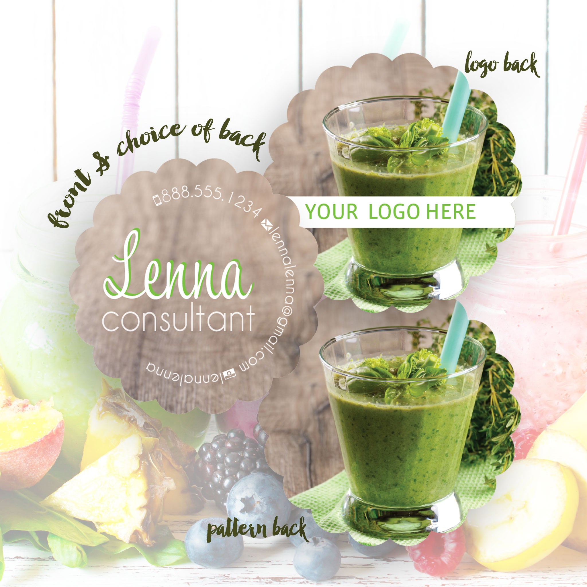 Lenna - Business Cards