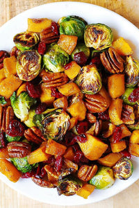 Roasted Veggies and Pecans