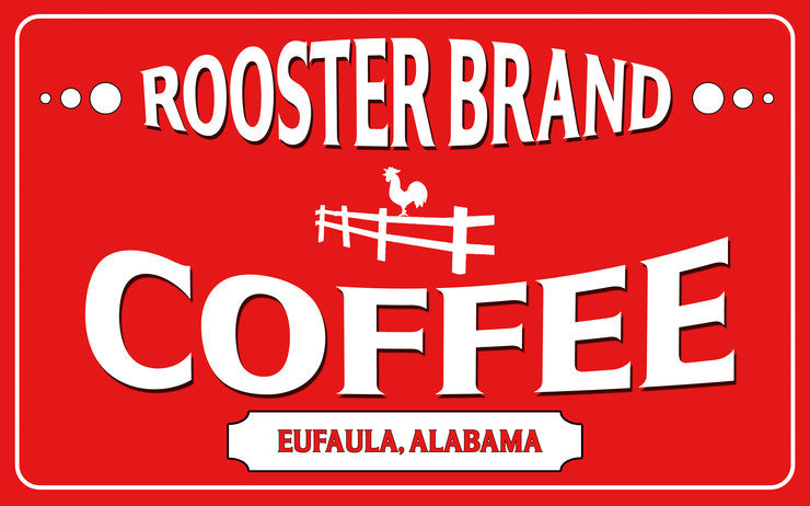 Rooster Brand Coffee at Superior Pecans & Gifts