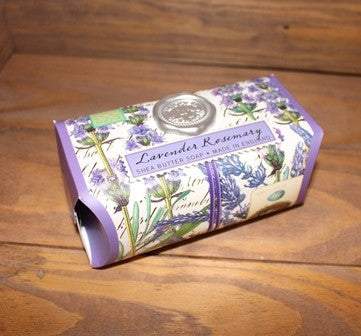 Lavender and Rosemary Large Bath Soap Bar - 8.7 oz.
