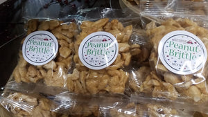 Peanut Brittle - 4 OZ Bag