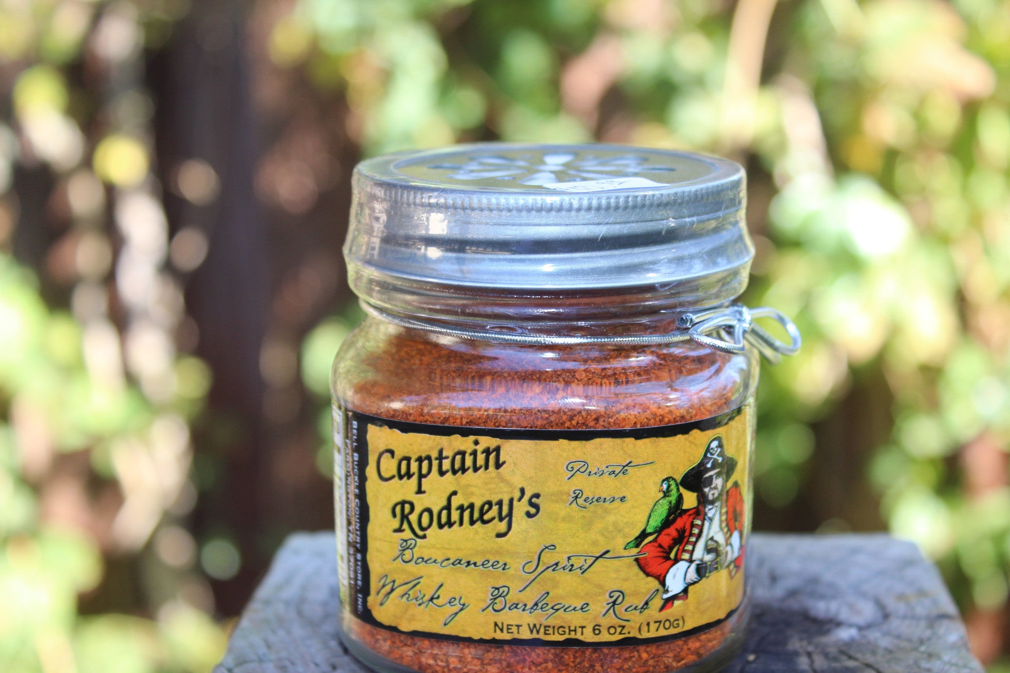 Captain Rodney's Whiskey Barbeque Rub