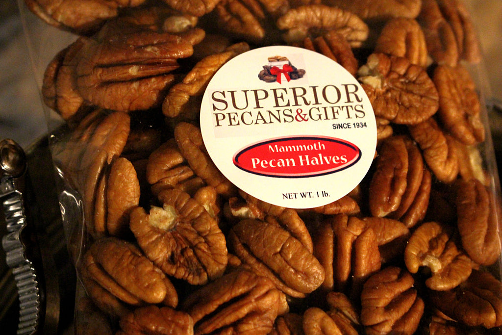 Mammoth Pecan Halves - 16 OZ Bag