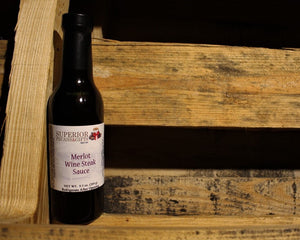Merlot Wine Steak Sauce