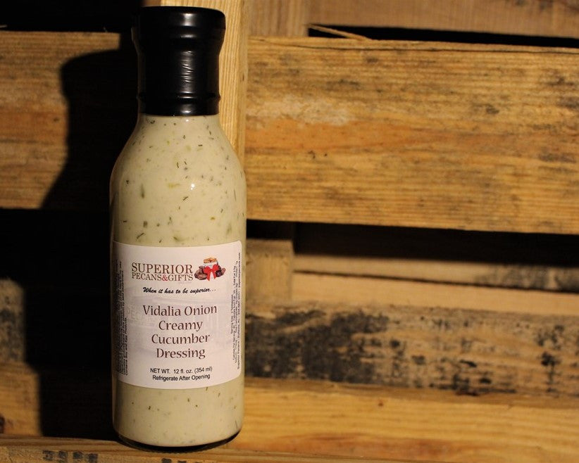 Vidalia Onion Creamy Cucumber Dressing