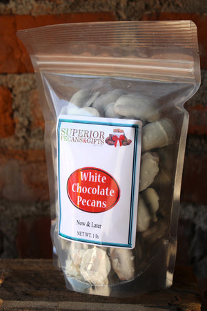 White Chocolate Pecans - 1 LB