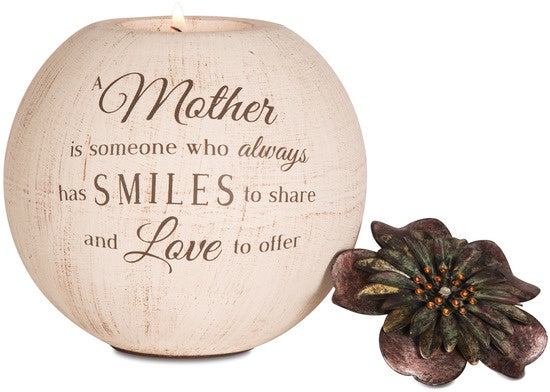 A Mother is someone... Candle