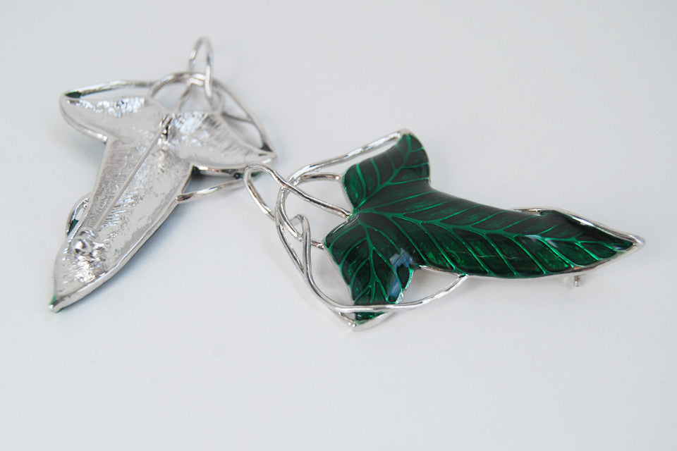 Elven Leaf Brooch