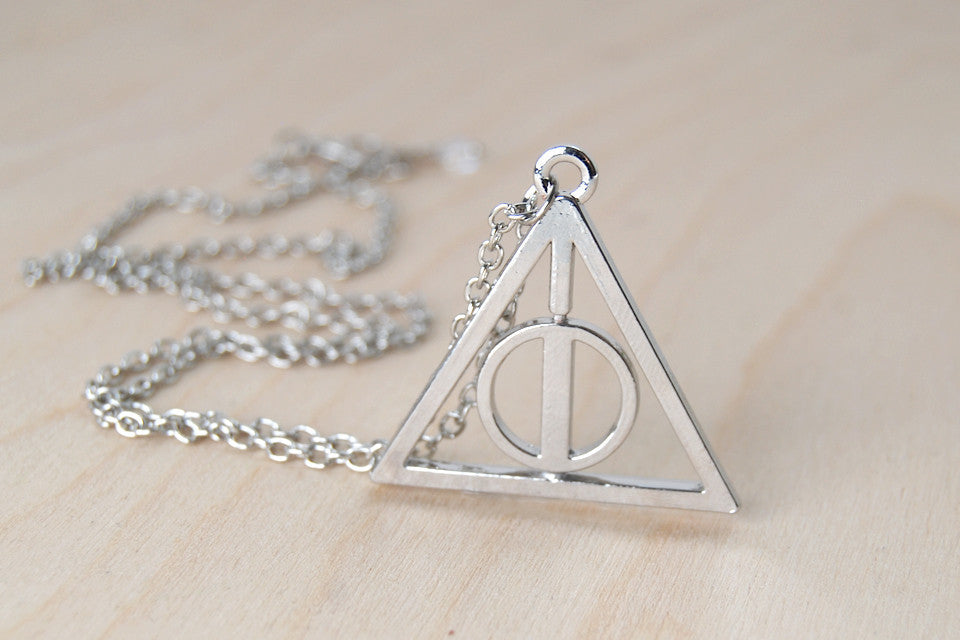 Large Deathly Hallows Necklace
