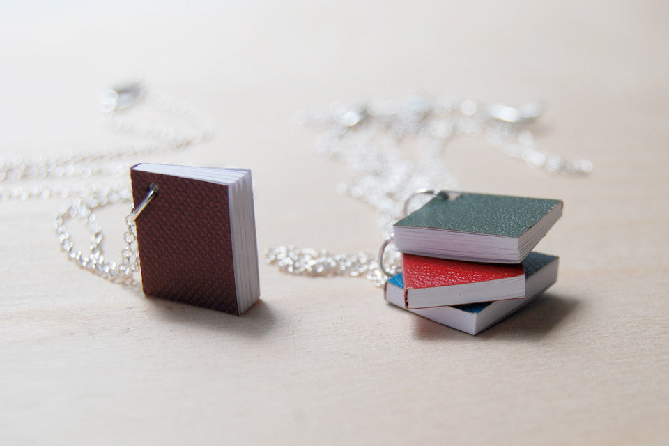 Tiny Journal Necklace