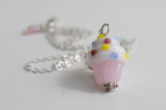 Scrumptious Cupcake Necklace